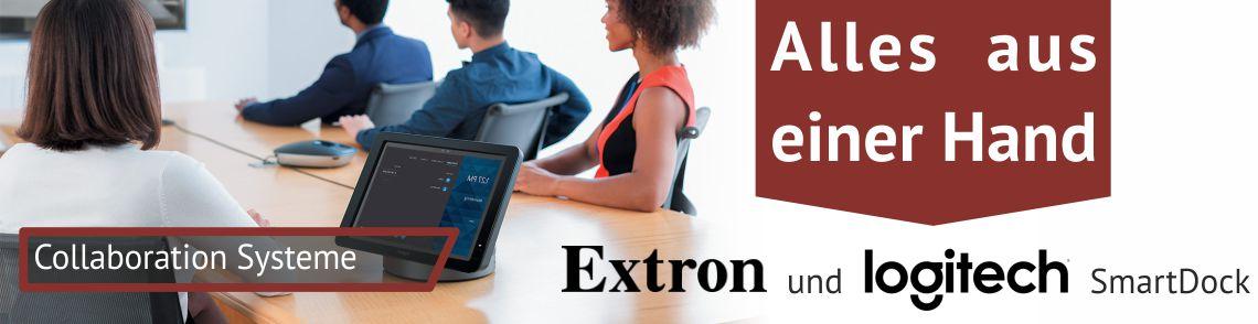 Extron und Logitech