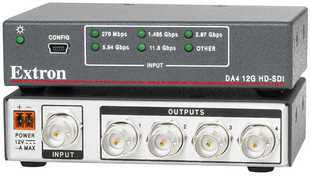 DA4 12G HD-SDI