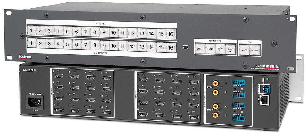 DXP HD 4K-Serie