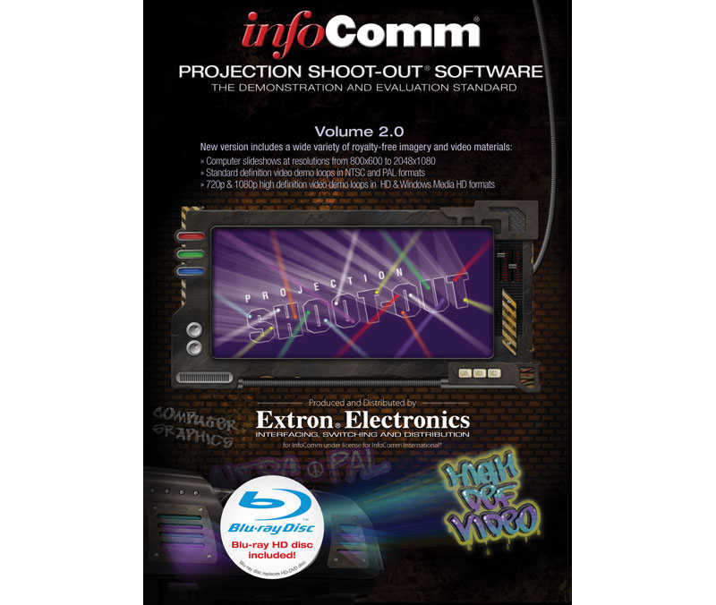 InfoComm® Projection Shoot-Out® Software Volume 2.0