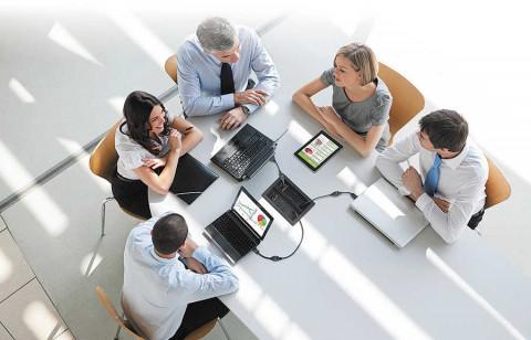 TeamWork-Systeme für Arbeitsgruppen